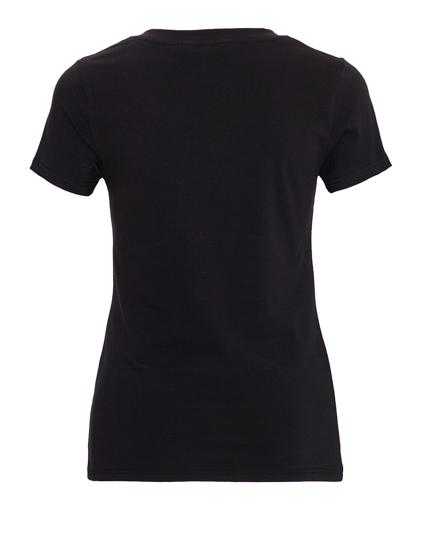 Queen Kerosin Queen Kerosin 50s T-Shirt We Can Do It in Black