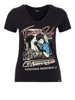 Queen Kerosin Queen Kerosin T-Shirt Tune Up in Black