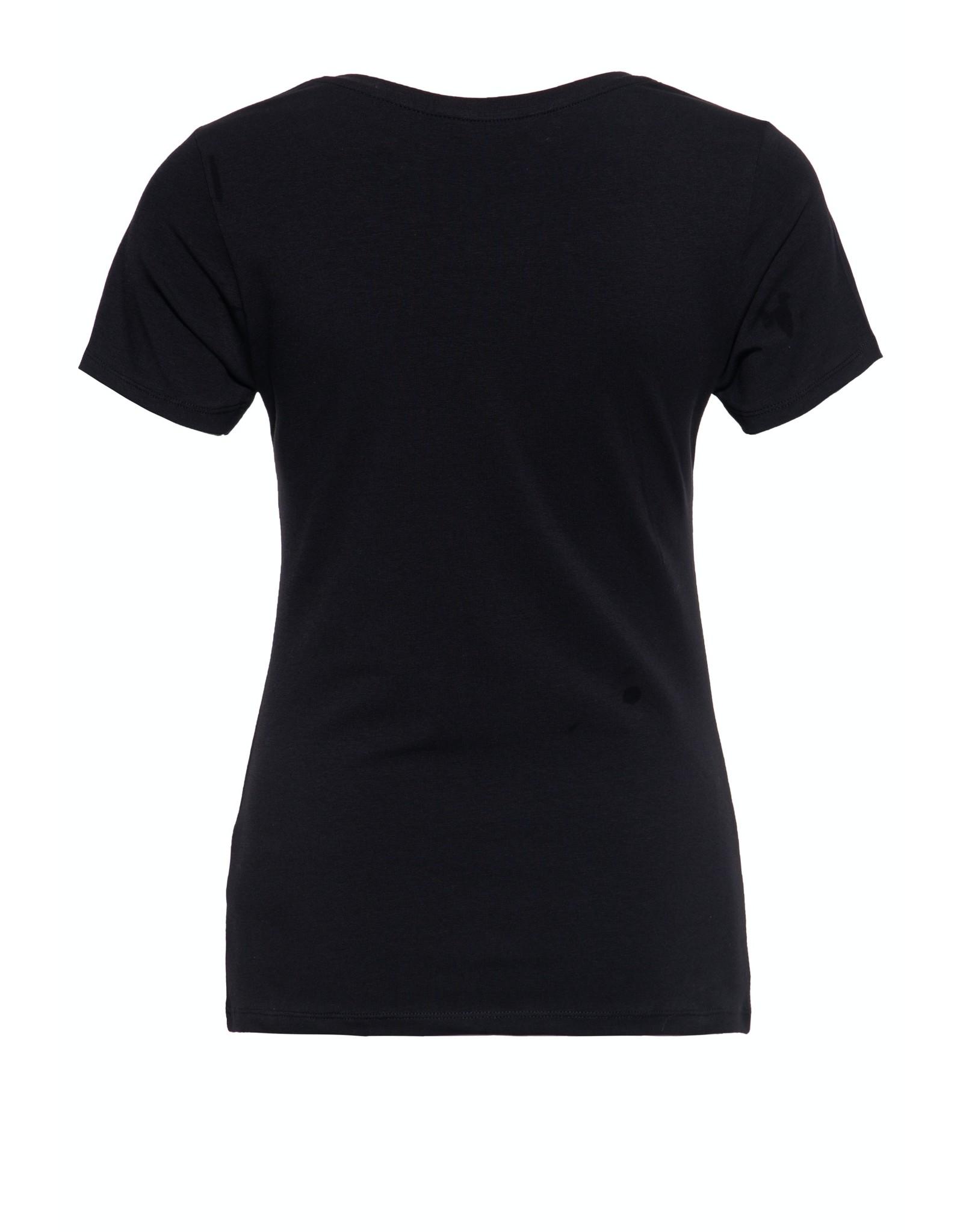 Queen Kerosin Queen Kerosin T-Shirt La Chica Bonita in Black