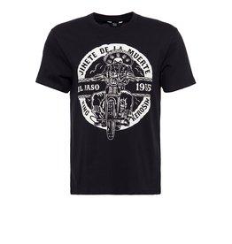 King Kerosin King Kerosin T-Shirt El Paso in Black