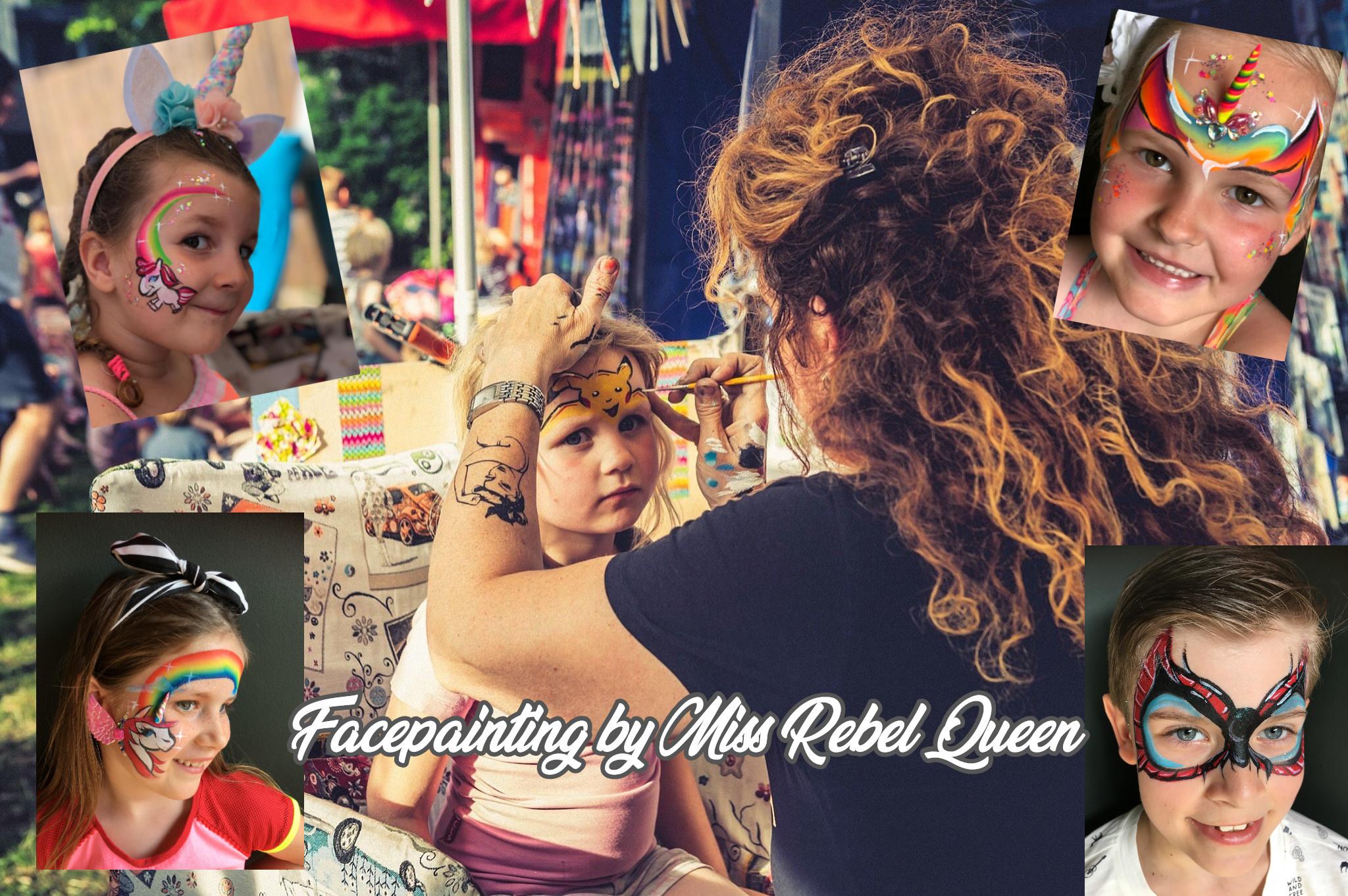 Miss Rebel Queen Facepaiting voorheen Martistic
