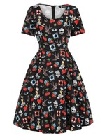 Lady Vintage London Rub On Tattoos Phoebe Dress