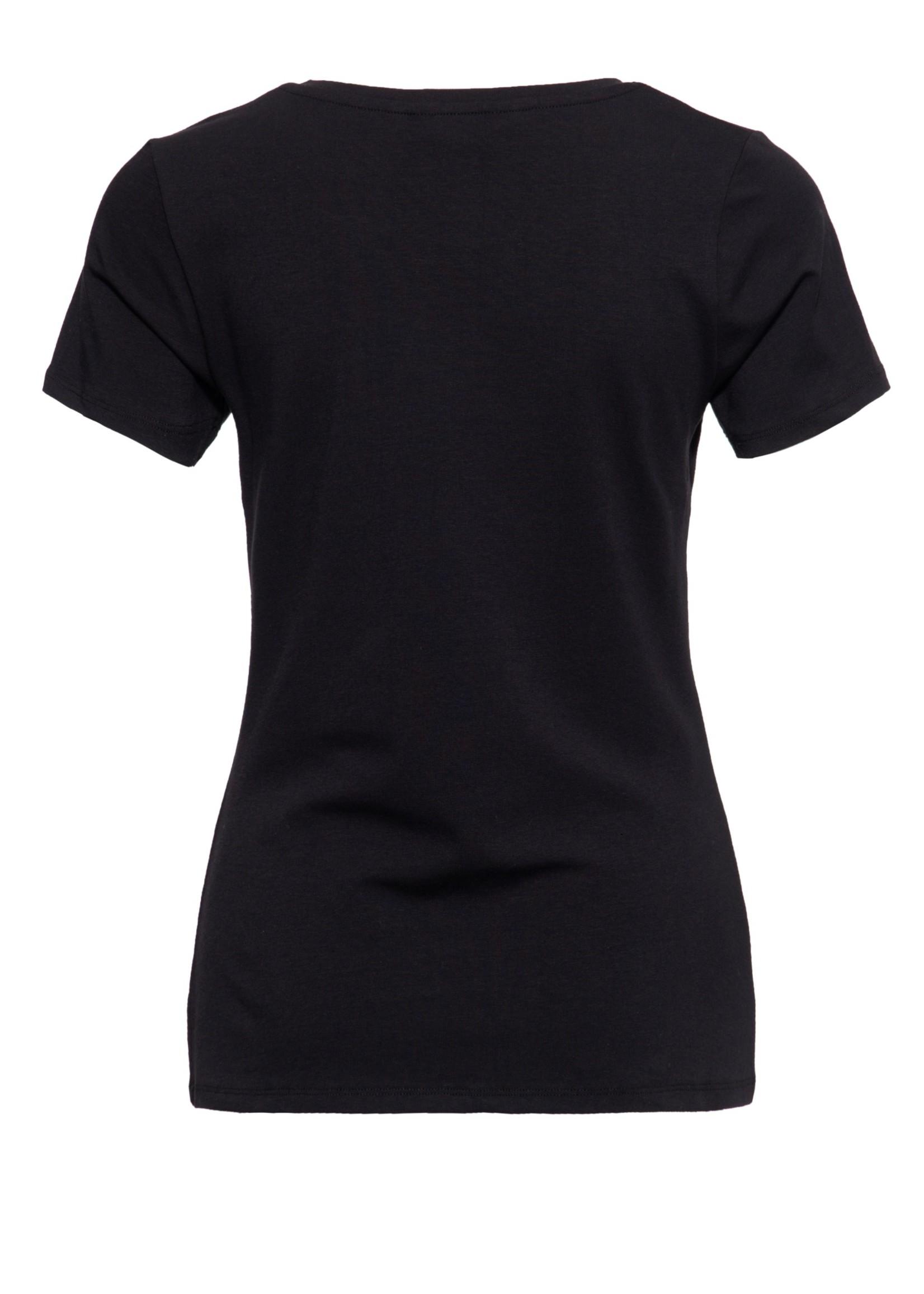 Queen Kerosin Queen Kerosin 50s T-Shirt Girl Gang in Black