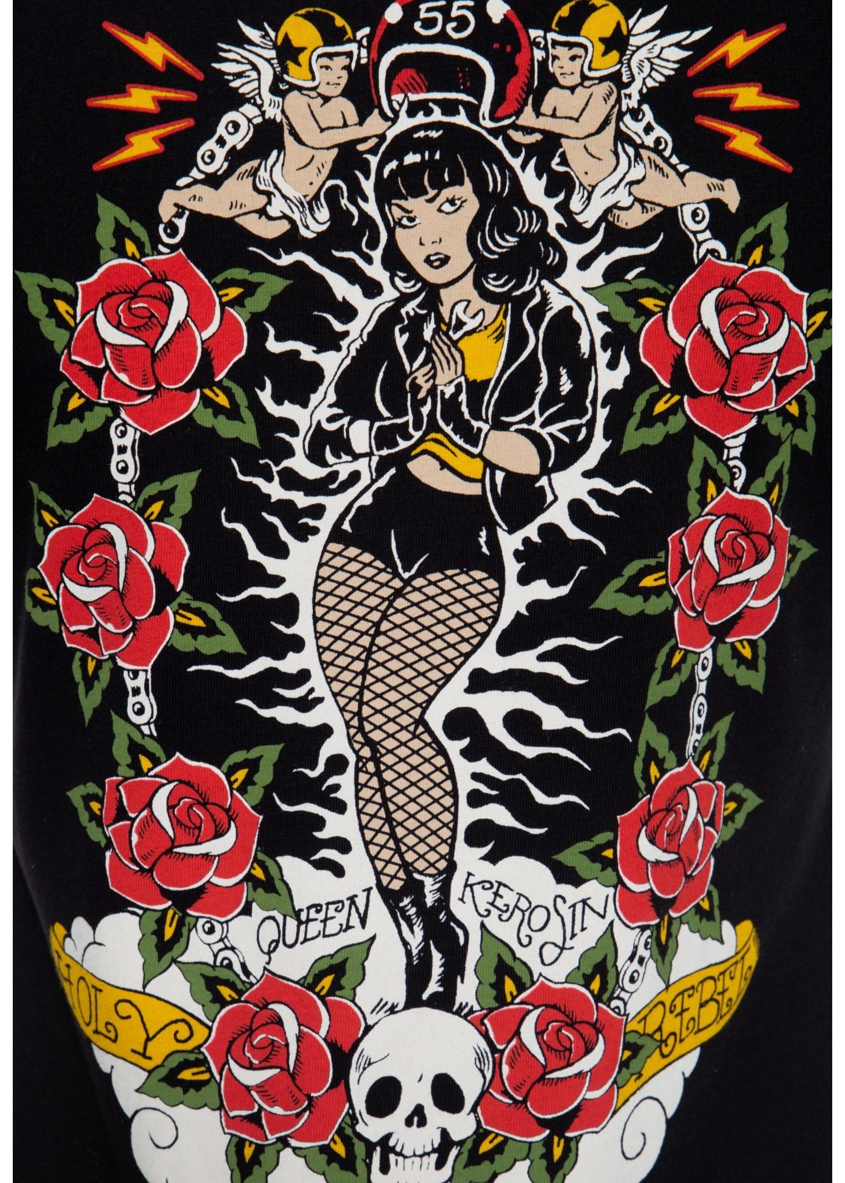 Queen Kerosin Queen Kerosin 50s Holy Rebel in Black