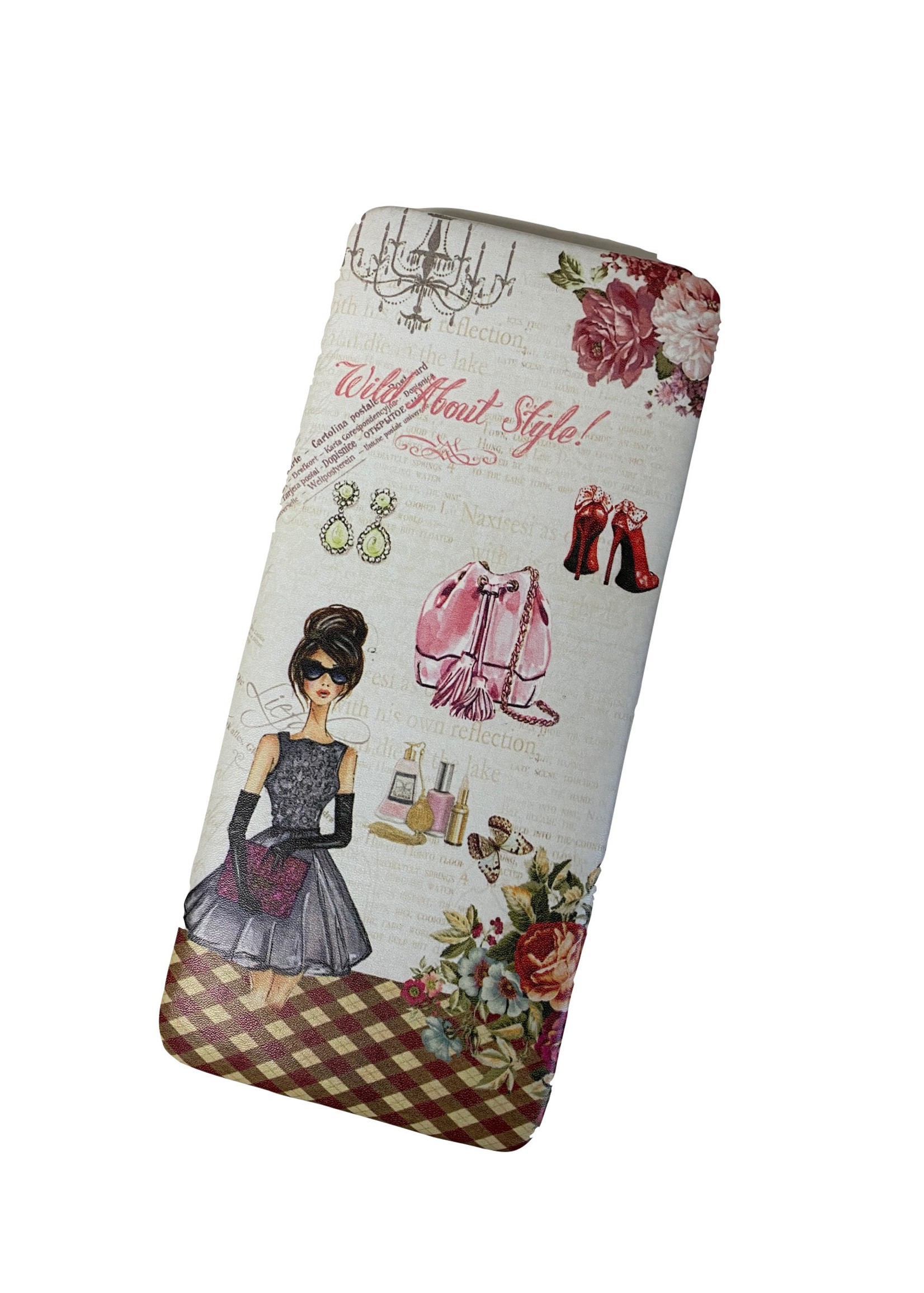 Wild About Style Hard Cover Clutch