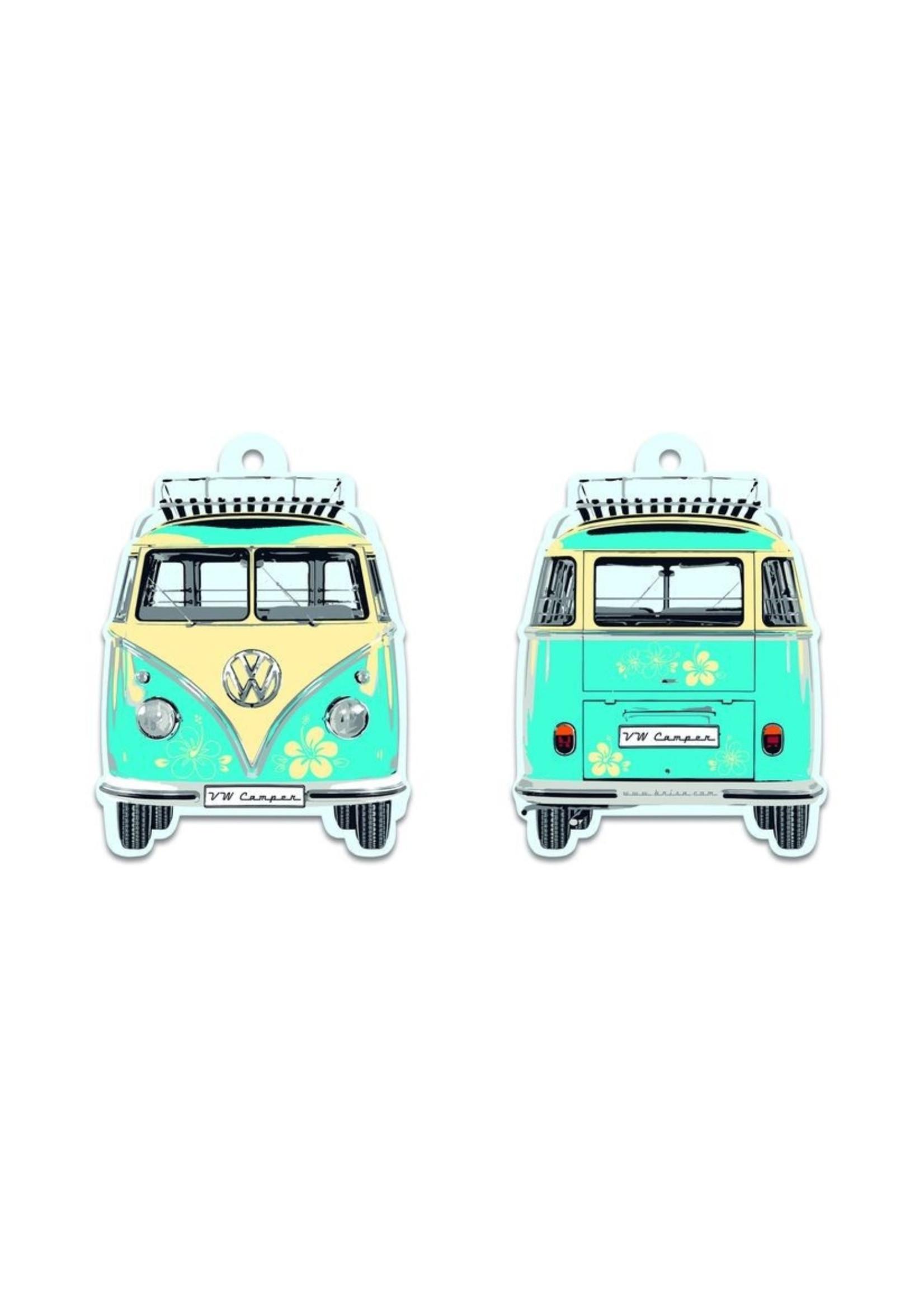 Volkswagen Volkswagen T1 Bus Air Freshener in Turquoise