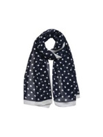 Polkadot Scarf in Blue
