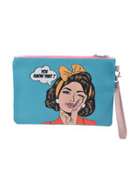 """Make-Up bag in Pop-Art Style """"You Know That"""""""
