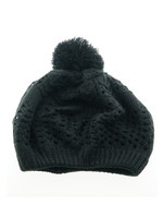 Knitted hat in Black