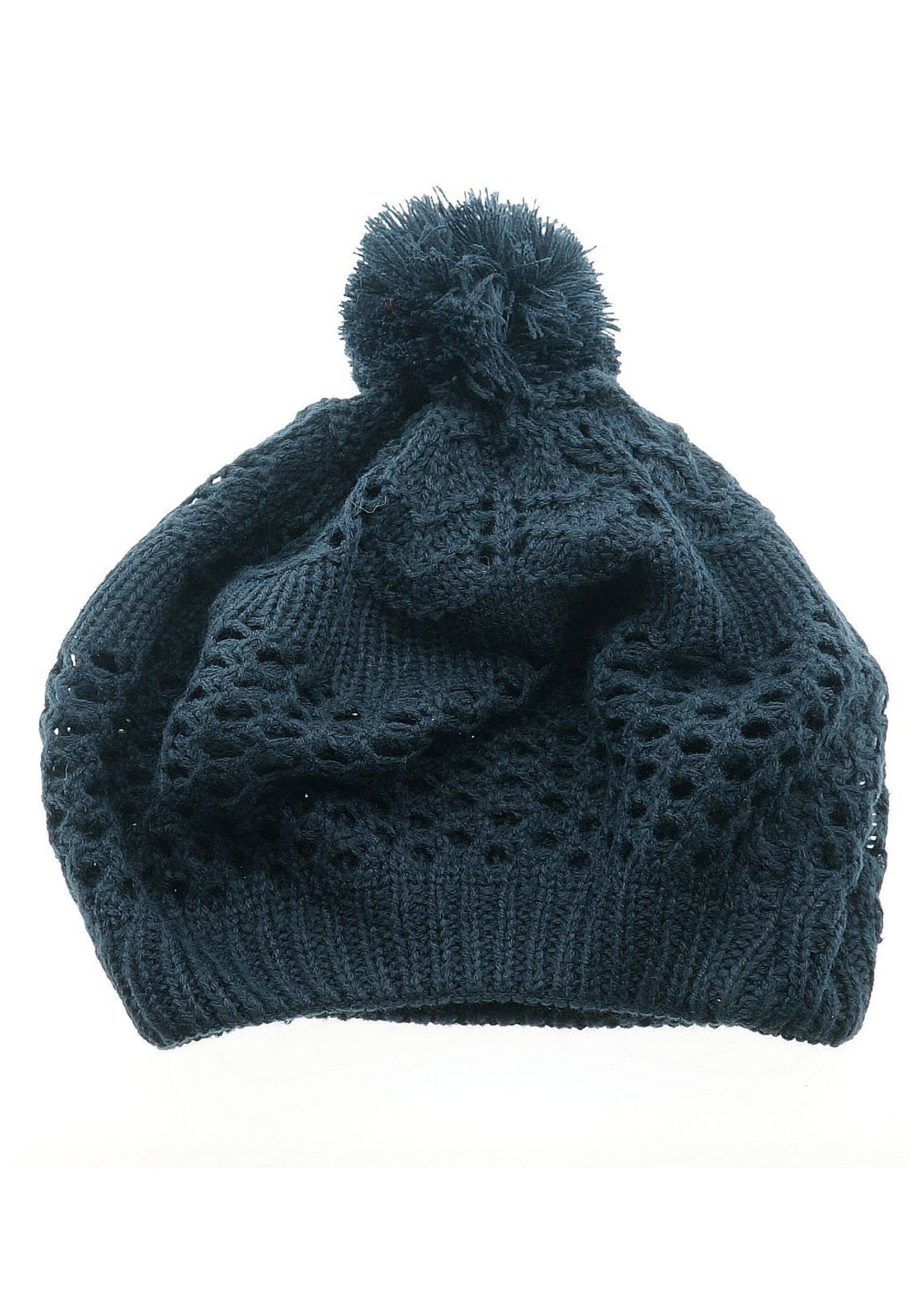 Knitted Hat in Dark Blue
