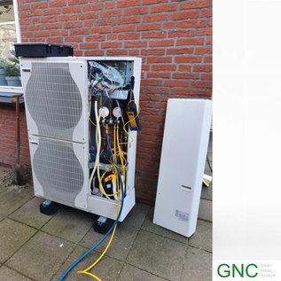 Warmtepomp: Inbedrijfstelling