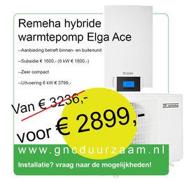 Remeha Warmtepomp (Hybride) Remeha Elga Ace