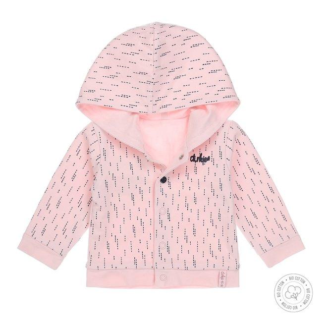 Dirkje meisjes babyvestje roze