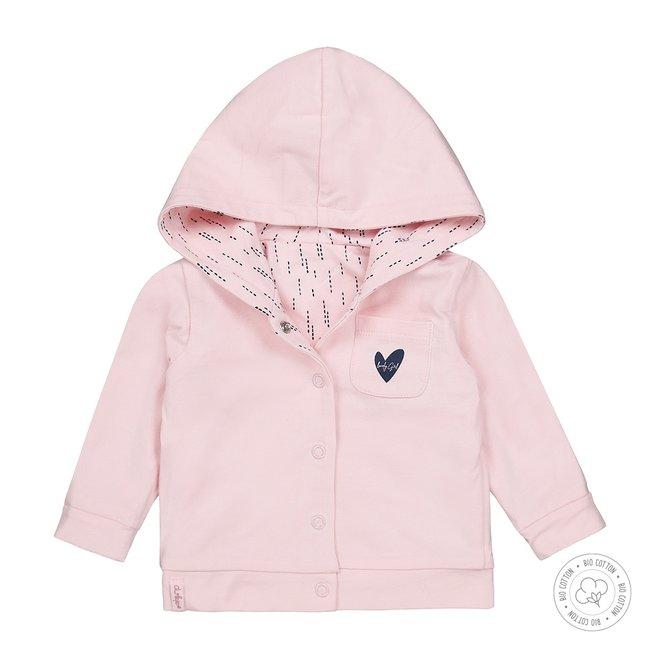 Dirkje Mädchen Baby Strickjacke Rosa