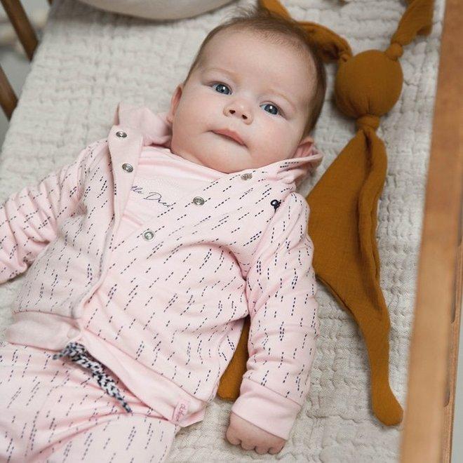 Dirkje Mädchen Babyshirt Rosa mit Falte