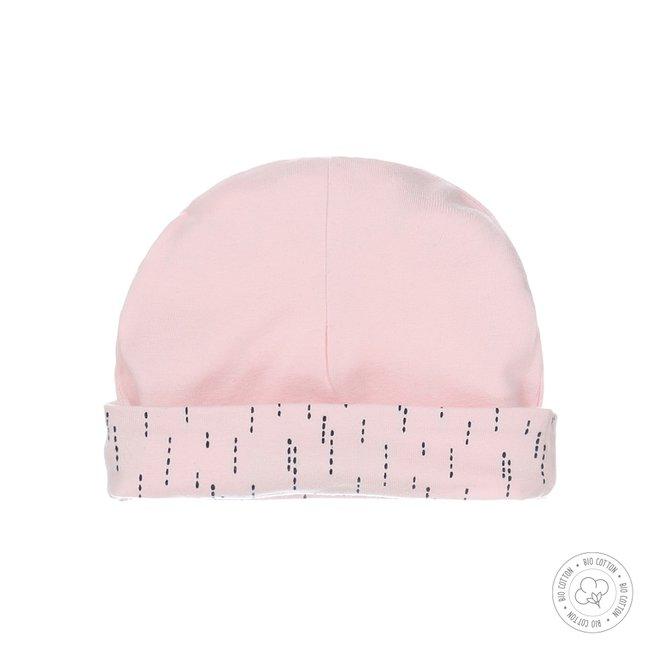 Dirkje babymutsje roze
