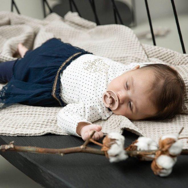 Dirkje Mädchen Babyset 2-teilig Navy und Ecru