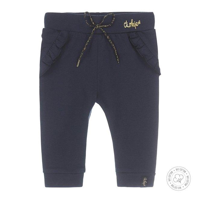 Dirkje girls baby pants navy