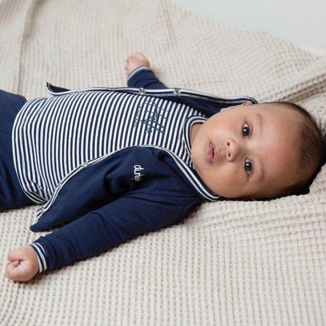 Dirkje Jungen Babyset 3-teilig Navy und Ecru