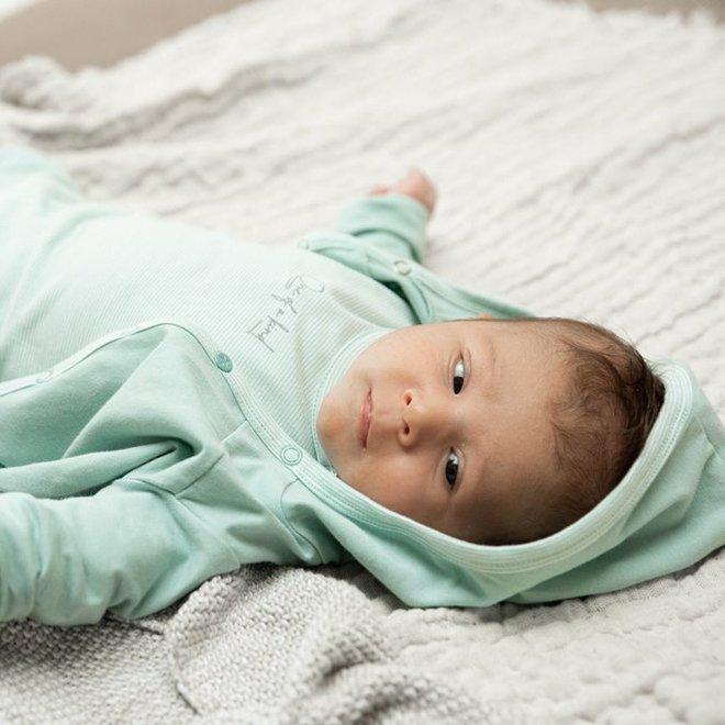 Dirkje unisex babypakje 3-delig mintgroen en ecru