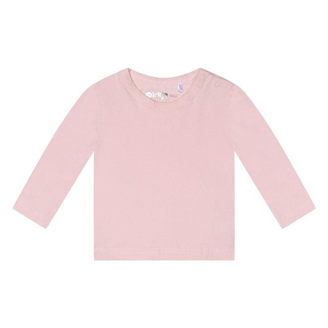 Dirkje basic longsleeve pink