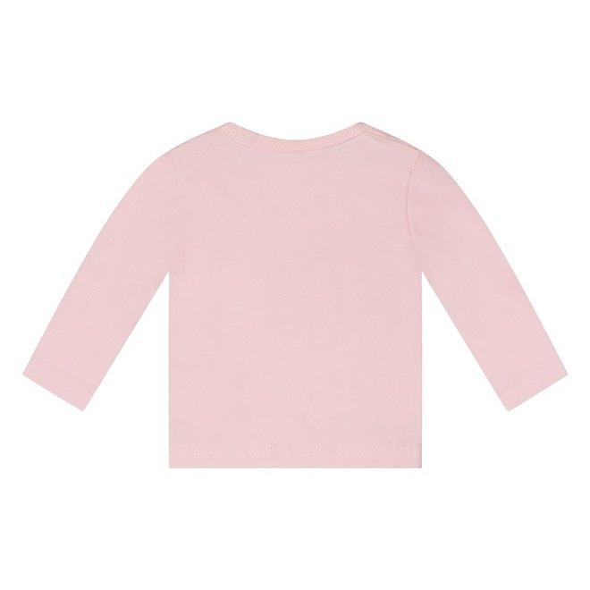 Dirkje basic longsleeve roze
