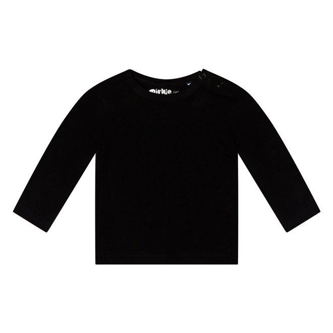 Dirkje basic longsleeve black