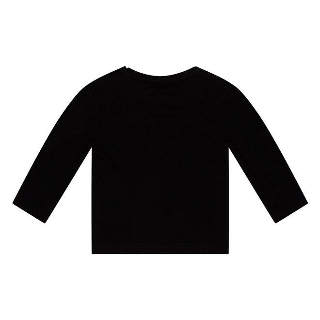 Dirkje basic longsleeve zwart