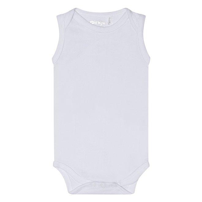 Dirkje basic bodysuit sleeveless white