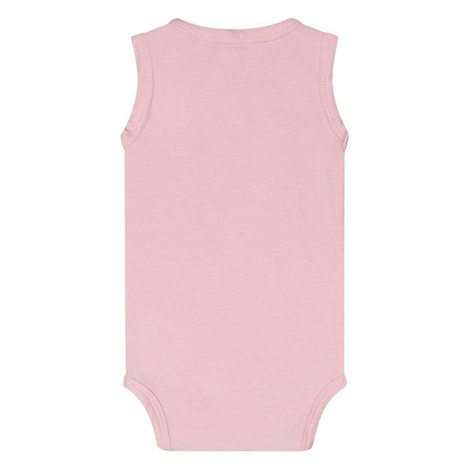 Dirkje basic bodysuit sleeveless pink