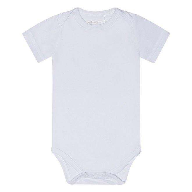 Dirkje basic bodysuit short sleeve white