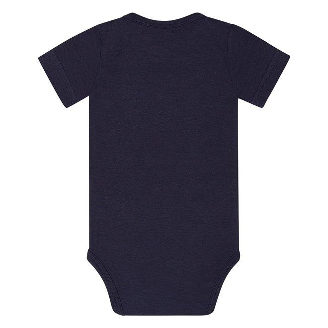 Dirkje basic bodysuit short sleeve navy