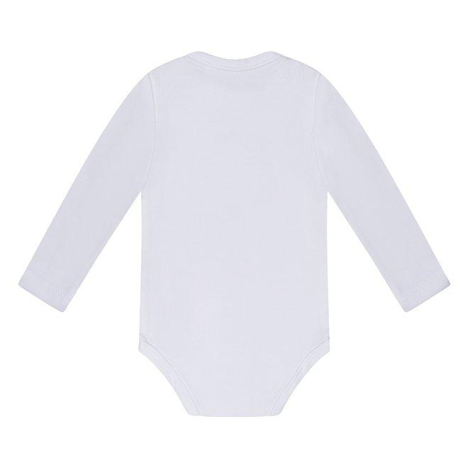 Dirkje basic bodysuit long sleeve white