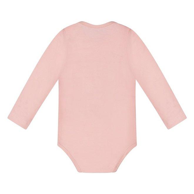 Dirkje basic bodysuit long sleeve pink