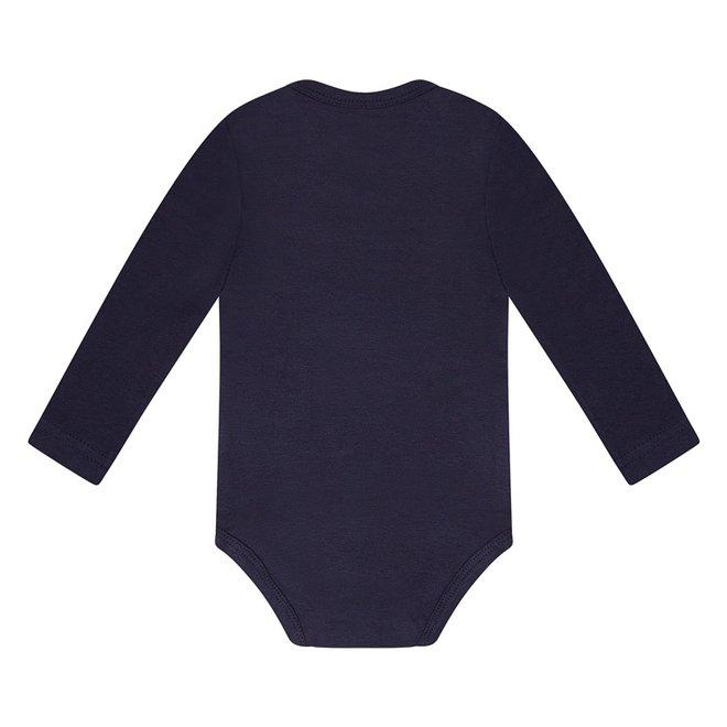 Dirkje basic bodysuit long sleeve navy