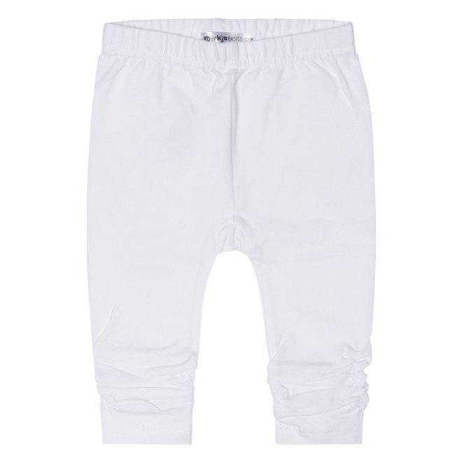 Dirkje basic girls legging white