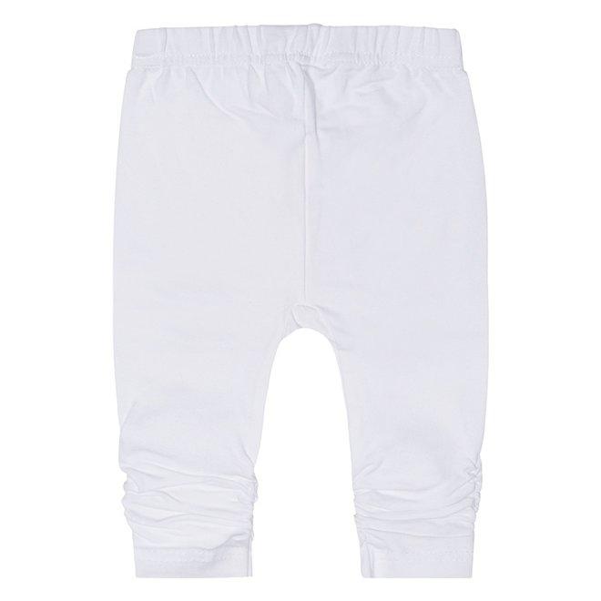 Dirkje basic meisjes legging wit