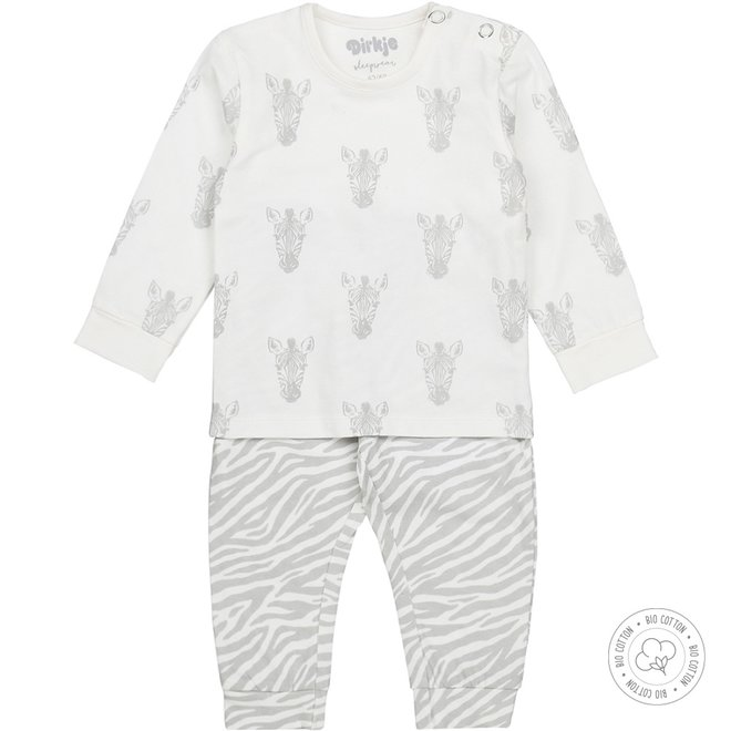 Dirkje girls pyjamas zebra
