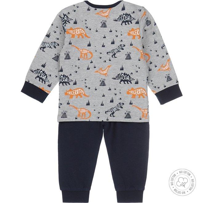 Dirkje Jungen Schlafanzug Dino
