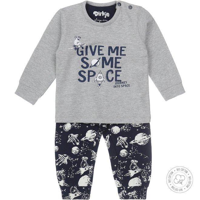 Dirkje jongens pyjama space