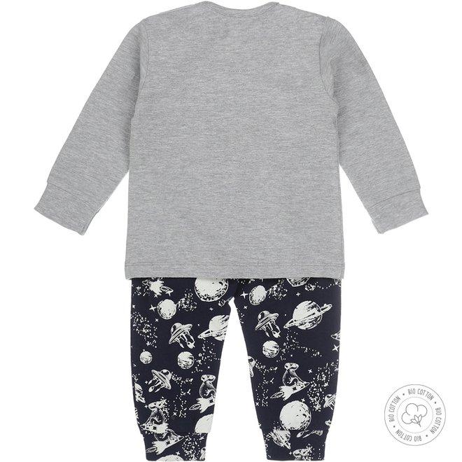 Dirkje Jungen Schlafanzug Space
