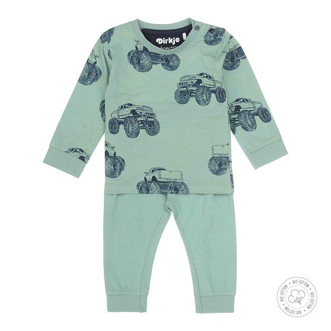 Dirkje boys pyjamas monstertruck