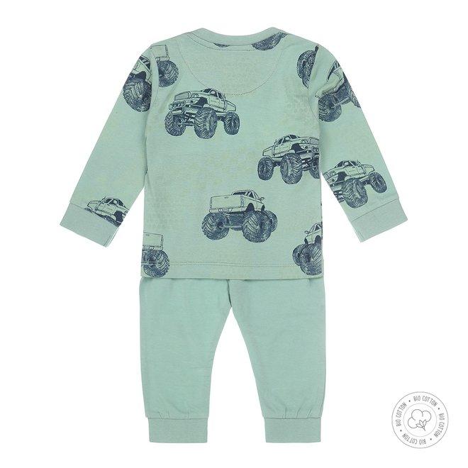 Dirkje Jungen Schlafanzug Monstertruck