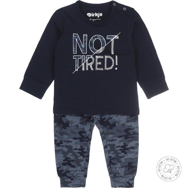 Dirkje boys pyjamas army
