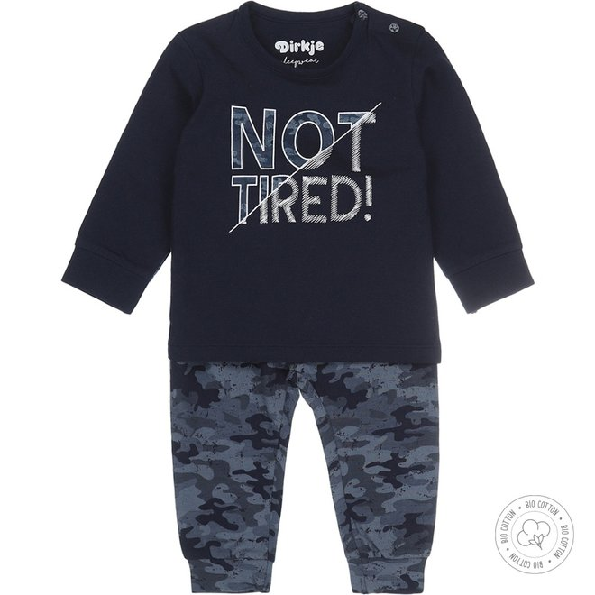 Dirkje Jungen Schlafanzug Army