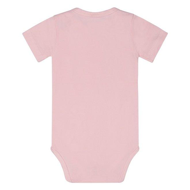 Dirkje basic bodysuit short sleeve pink