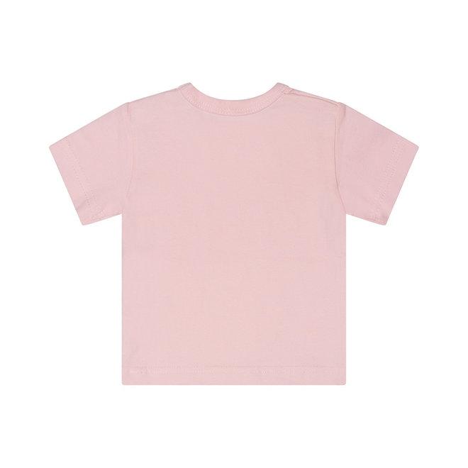 Dirkje basic T-shirt roze