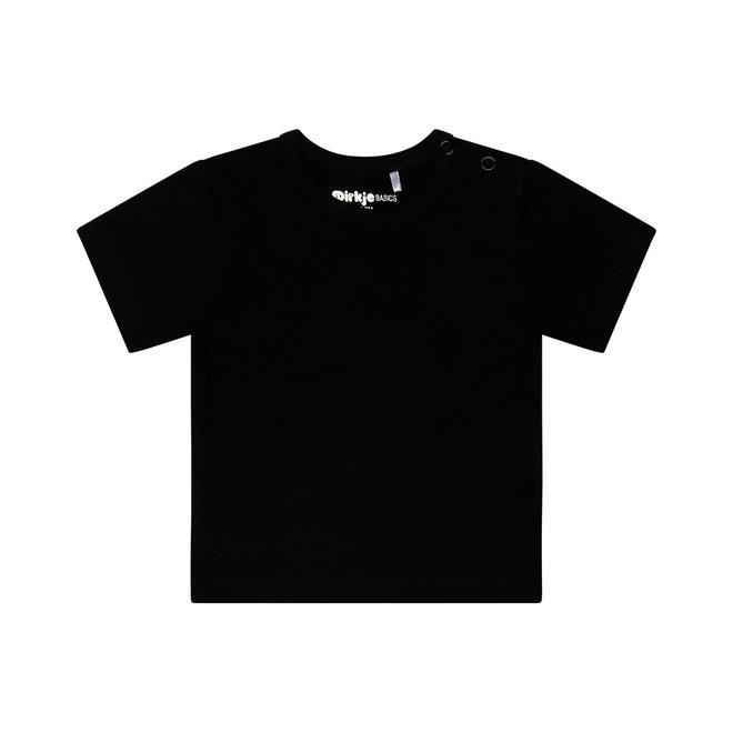 Dirkje basic T-shirt zwart