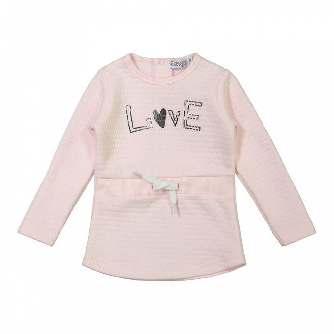 Dirkje girls baby dress pink