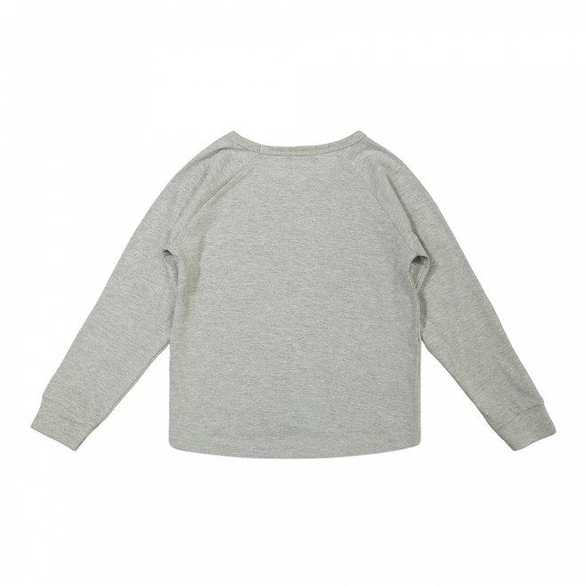 Dirkje meisjes sweater grijs wow